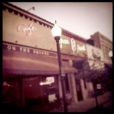 The Square in San Marcos, Texas :)