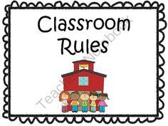 Classroom Rules- Posters from I Heart ESOL  on TeachersNotebook.com -  (7 pages)  - This file contains six posters for classroom rules.  Title- Classroom Rules Rule #1 Be Ready to Learn Rule #2 Raise Your Hand to Speak Rule #3 Respect Yourself & Others Rule #4 Follow Directions Rule #5 Be a Friend!