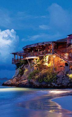 Eden Rock Hotel in St. Barts = Dream Honeymoon location