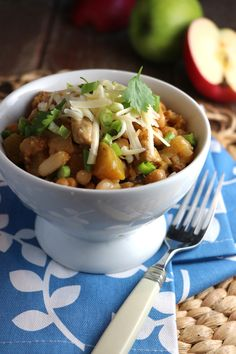 Turkey & Apple White Chili | Eat In Eat Out Magazine