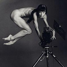 sylvie guillem, self portraits, french vogu, danc photographi, camera, art, inspir, sylvi guillem, ballet