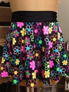 KRAZY DAISY! Super Cool Costume Running Skirt!  Perfect for your upcoming Disney race or themed race!