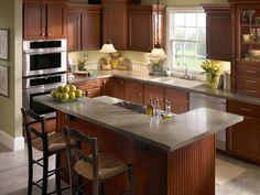 Like the kitchen layout