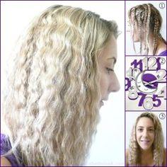 Ondas con trenzas, Consigue este peinado sin usar calor, encuentra esta y otras opciones para ondular tu cabello, sin maltratarlo...http://www.1001consejos.com/ondas-sin-calor/