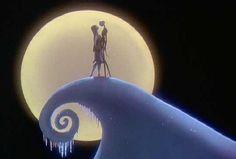 Jack Skellington and Sally - The Nightmare Before Christmas