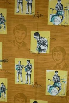 Beatles curtains