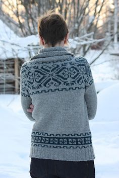 colorwork sweater