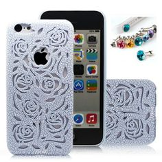 Cocoz® New Releases Romantic Blue Roses Carved Palace Fashion Design Hard Case Cover Skin Protector for Iphone 5c At&t Sprint Verizon Retail Packing(pc) -H007 Sale - http://mydailypromo.com/cocoz-new-releases-romantic-blue-roses-carved-palace-fashion-design-hard-case-cover-skin-protector-for-iphone-5c-att-sprint-verizon-retail-packingpc-h007-sale.html