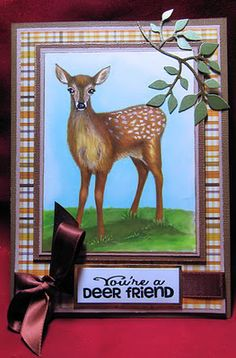 Using Joy's Life Wild Life Puns stamp set: http://joyslife.com/products/products.html