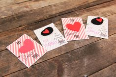free pirate valentine printables