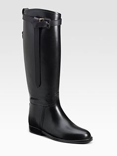 Burberry Riding Rain Boots
