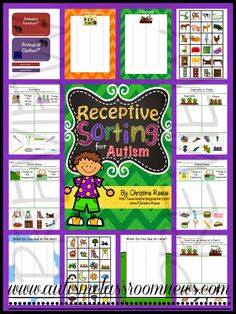 More Ways for Teaching Receptive Vocabulary (and a freebie!) by Autism Classroom News: http://www.autismclassroomnews.com. Repinned by SOS Inc. Resources pinterest.com/sostherapy/.