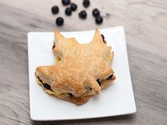 Oh Canada Napoleon - filled with Saskatoon berries. Being from Saskatchewan, how can I resist?