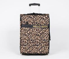 My Boys would steal this one if I had it, Lol!  Hello Kitty Luggage: Leopard