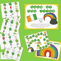 Speech Room News: St. Patrick's Day Articulation Packets! Pinned by SOS Inc. Resources. Follow all our boards at pinterest.com/sostherapy for therapy resources.