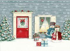 . christma clip, helz cuppledich, художник helz, christma illustr, helz cuppleditch