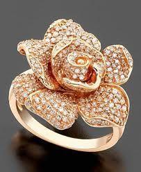 A rose gold rose!