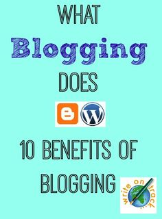 Why do you blog? Here's why I am still blogging