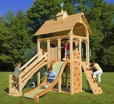 build your own playset plans