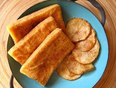 Tofu Fish 'n' Chips #vegan #tofu #recipe #yummy #fried