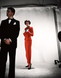 BABE PALEY -- Photo for Vogue by Erwin Blumenfeld,  September 1946.