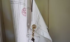 CANVAS APRON FROM OLMAY HOME.