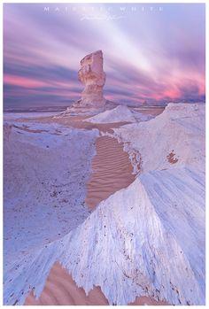 White Desert National Park, Egypt