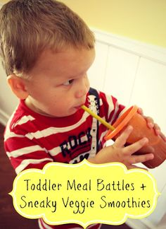 Toddler Meal Battles and Sneaky Veggie Smoothies - Bare Feet on the Dashboard