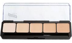 Amazon.com: Graftobian HD Crème Foundation Palette, Ultra Lite: Beauty $24.99