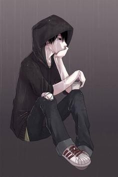 Anime Guy with Hoodie | Download Wallpapers, Download 640x960 emo hoodie anime anime boys ... anime emo drawing, anim guy, anim boy, emo anime guys, nico di angelo, anime boys