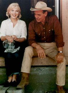 MM and Clark Gable