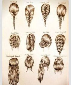 Love all of thies hair styles! Some are simple and some are different but they are all very creative and pretty!!!