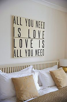 perfect for the bedroom you share together.