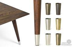 Mid-century-brass-furniture-leg-tips