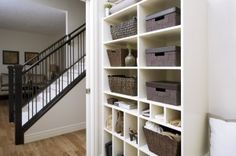 shelves & stairs