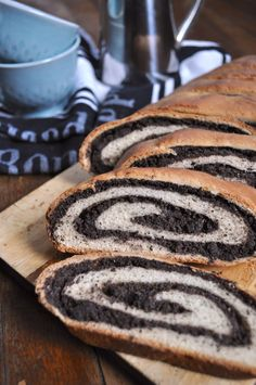 Vegan Poppy Seed Swirl Bread