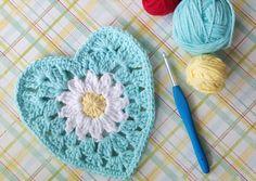 """10"""" Crochet Square w"""