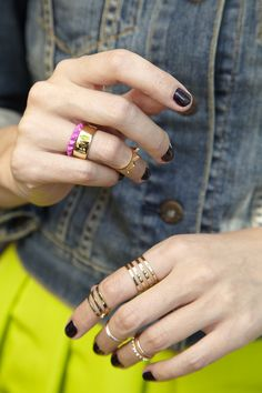 #rings #jewelery #accessories #fashion #style