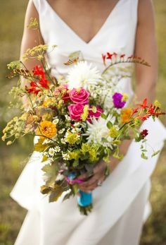 Ramo campestre Ramo novia  bridal bouquet  boda wedding