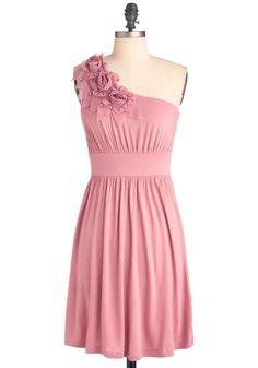 The Right Mauve Dress, #ModCloth