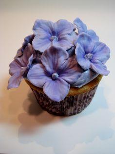 blue hydrangea, 600x800, beauti cake, cupcak idea, hydrangea cake, amaz cakescupcakes7, cake pop, hydrangea cupcak, hydrangeas