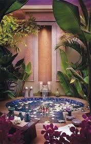 Beautiful garden tub!