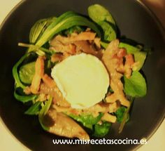 Ensalada templada hecha con la thermomix #verduras #recetas #thermomix