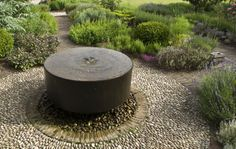 circles, paths, garden path, fountains, water features