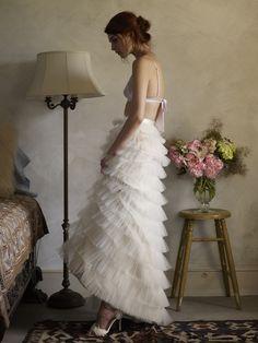 adore this soft, beautiful image via @BHLDN Weddings Weddings