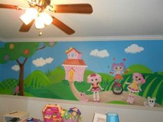 Murals by Mary Kay: LaLaLoopsy Child's Room