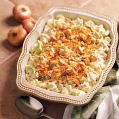 Chicken Almond Casserole