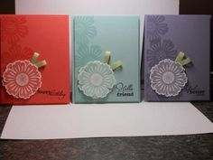 stampin up card mixed bunch
