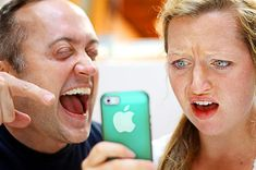 """5 Harmless iPhone Pranks To Play On Your Friends (downright mean, but possibly useful someday)... I love the """"pecan pie"""" idea."""