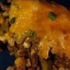 Mexican Cornbread Casserole on BigOven: Mexican casserole dinner that is easy to make, and reheats well.